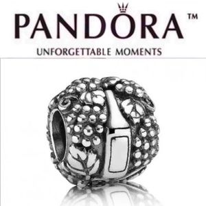 791222 Retired Pandora Vino Charm
